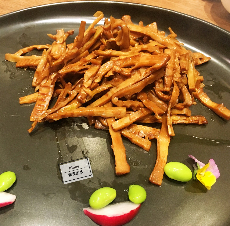 上海小南國餐廳推薦菜-油燜筍