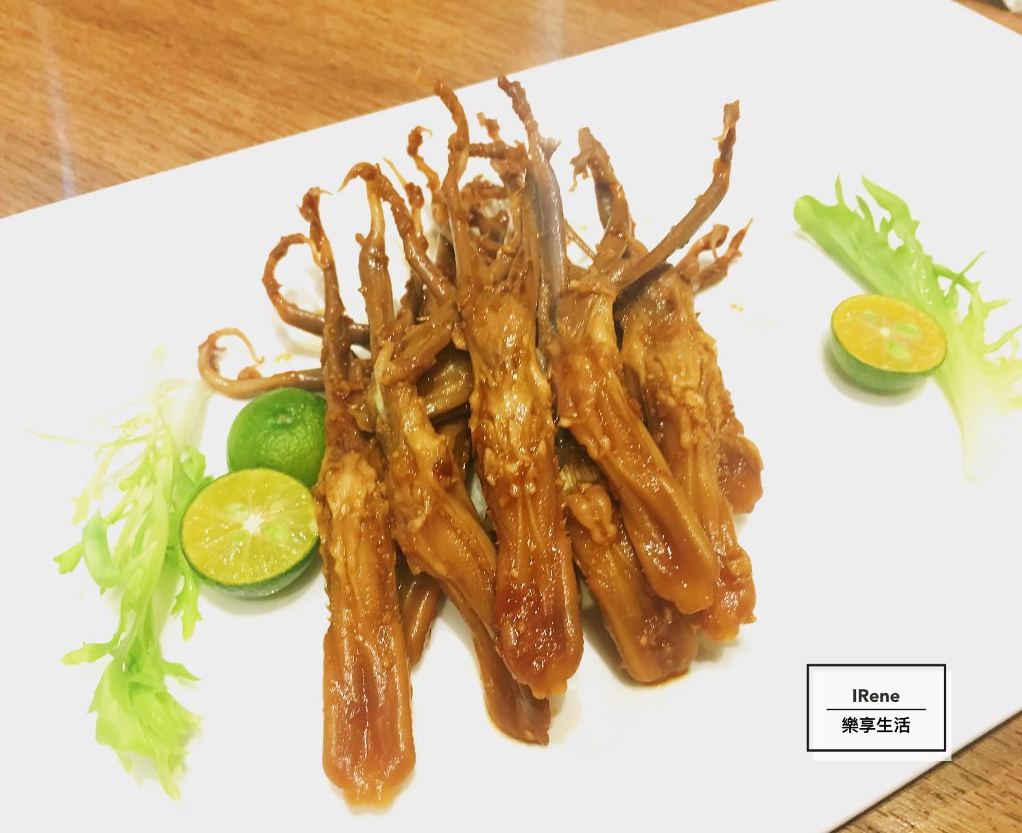 上海小南國餐廳推薦菜-回味鴨舌