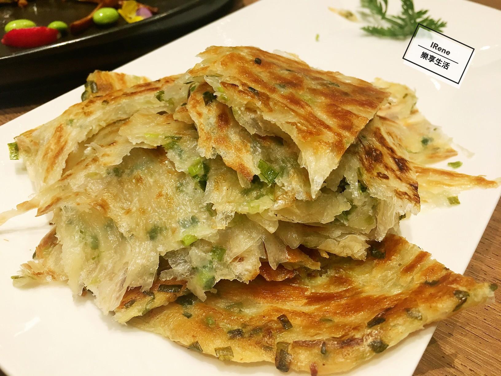 上海小南國餐廳推薦菜-特色蔥油餅
