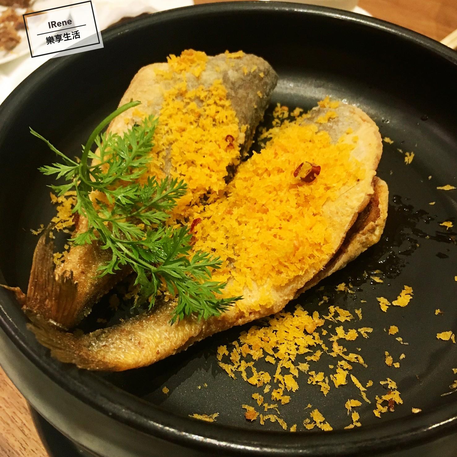 上海小南國餐廳推薦菜-風沙小黃魚