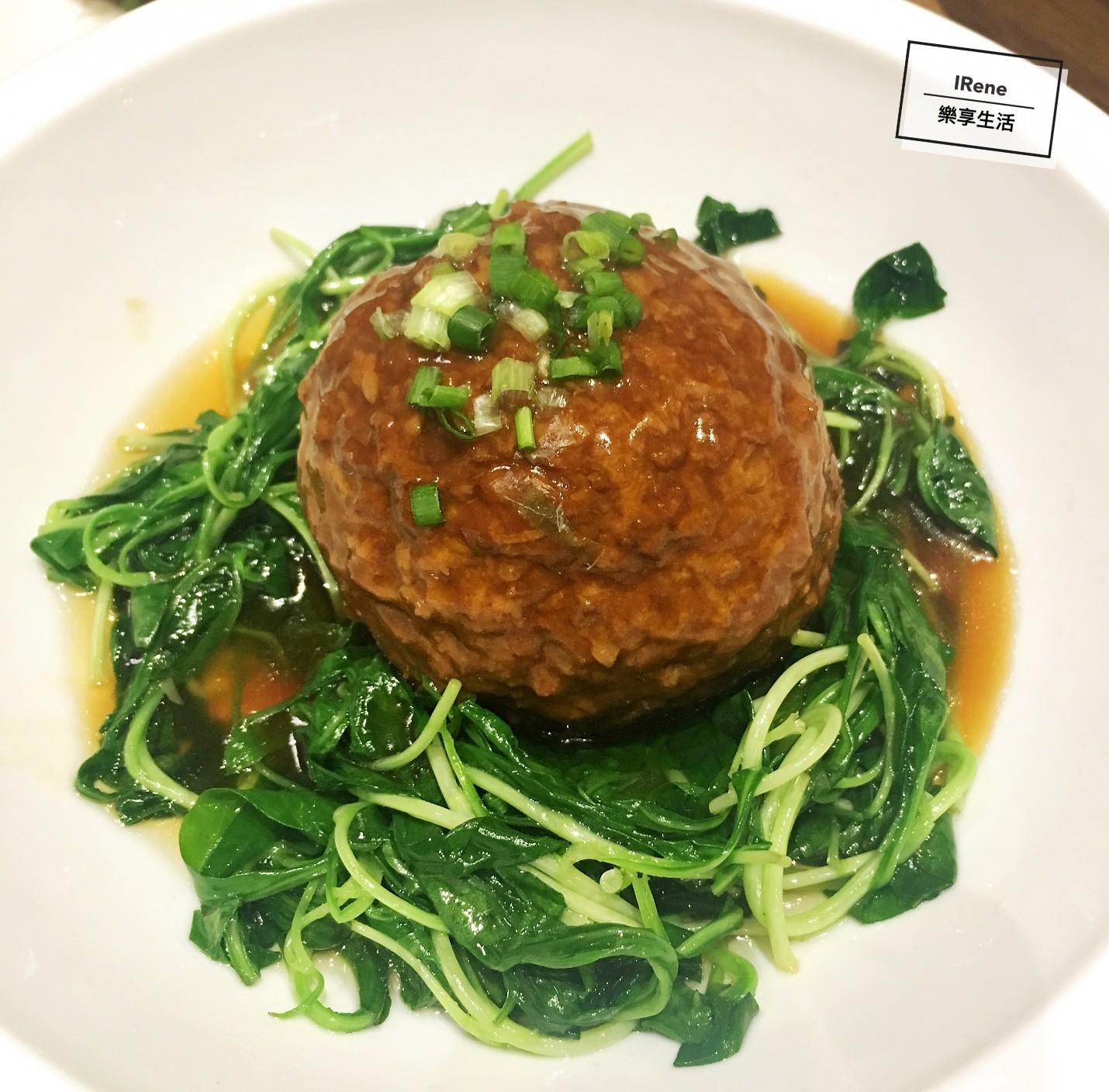 上海小南國餐廳推薦菜-紅燒獅子頭
