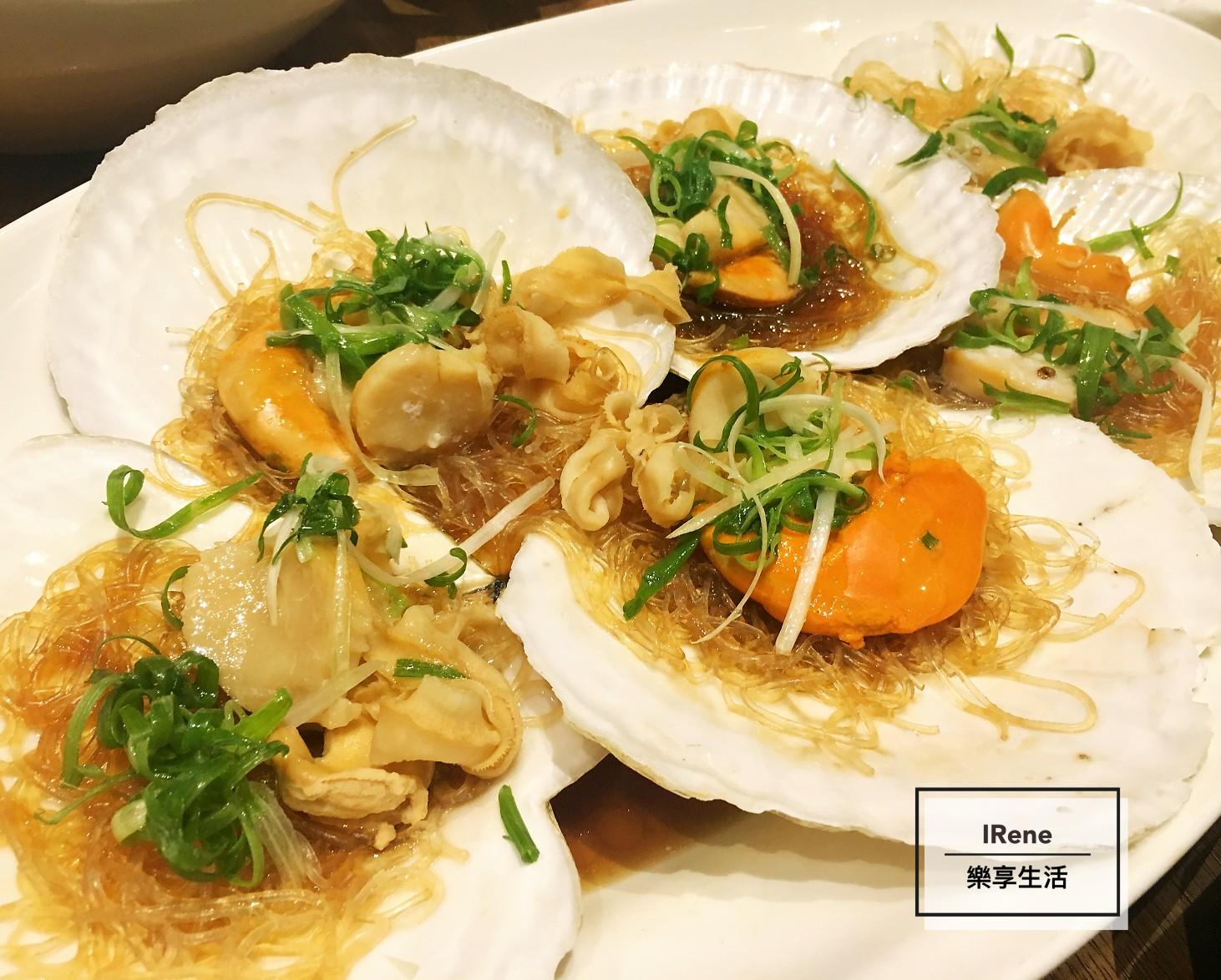 上海小南國餐廳-蒜蓉蝦貽貝