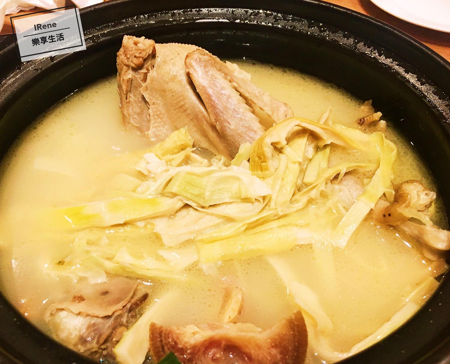 上海小南國餐廳推薦菜-老鴨火腿扁尖湯