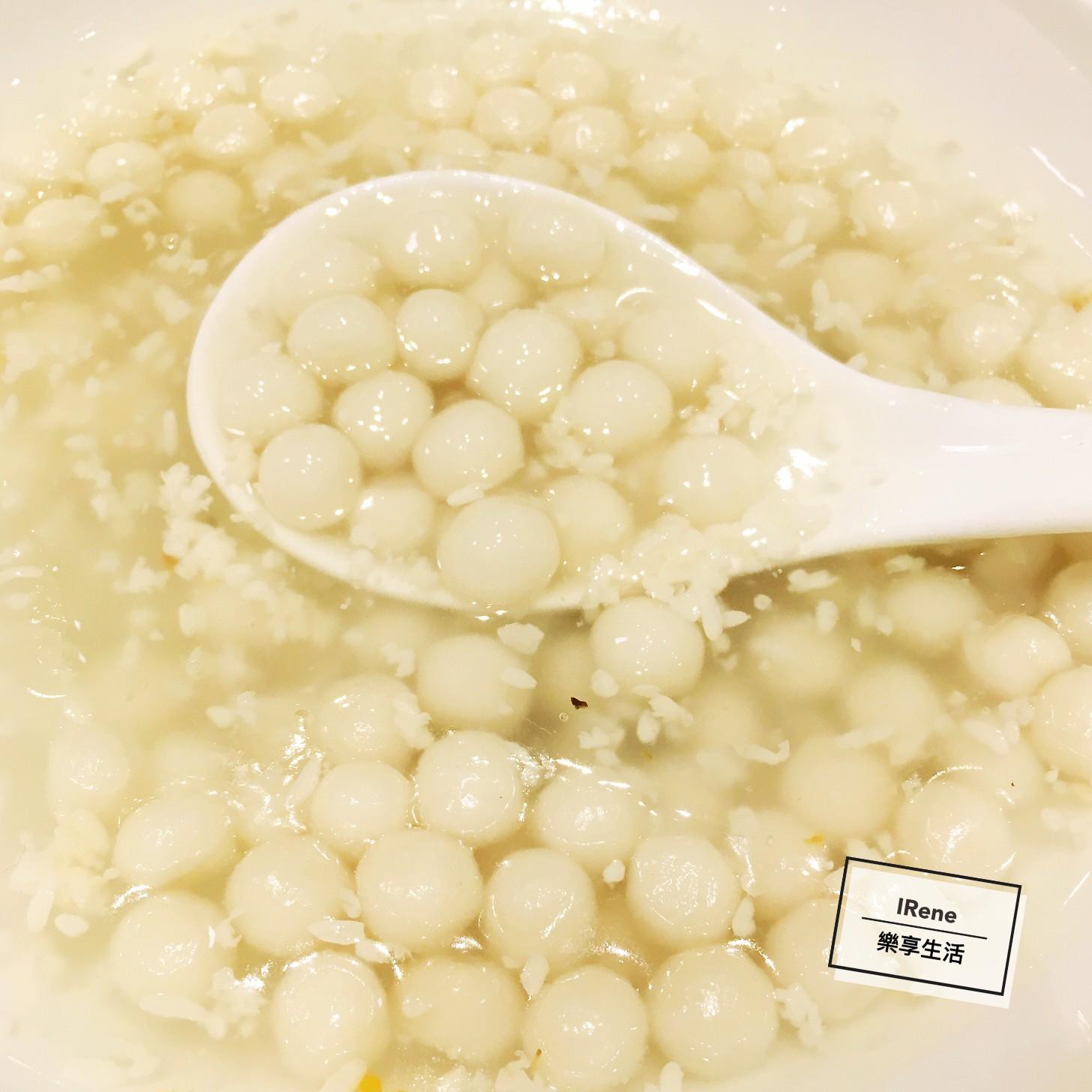上海小南國餐廳-桂花酒釀小圓子