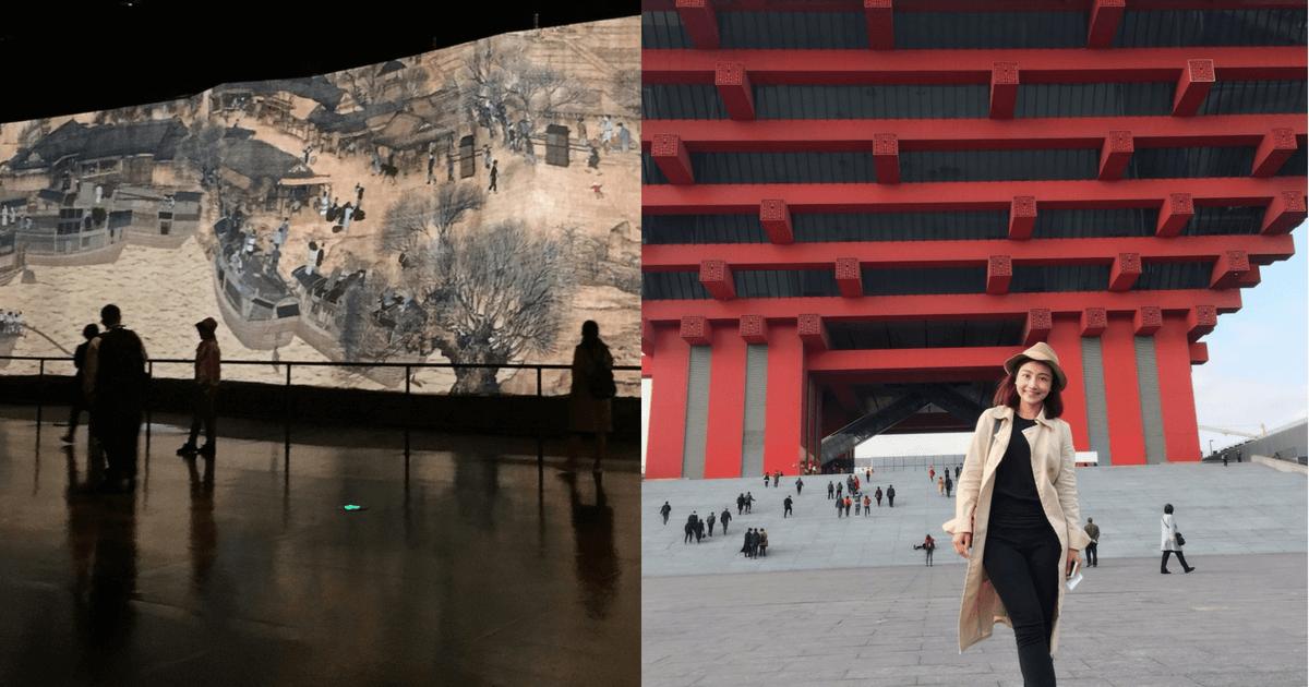 [上海景點推薦] 來到中華藝術宮, 必看動態版清明上河圖
