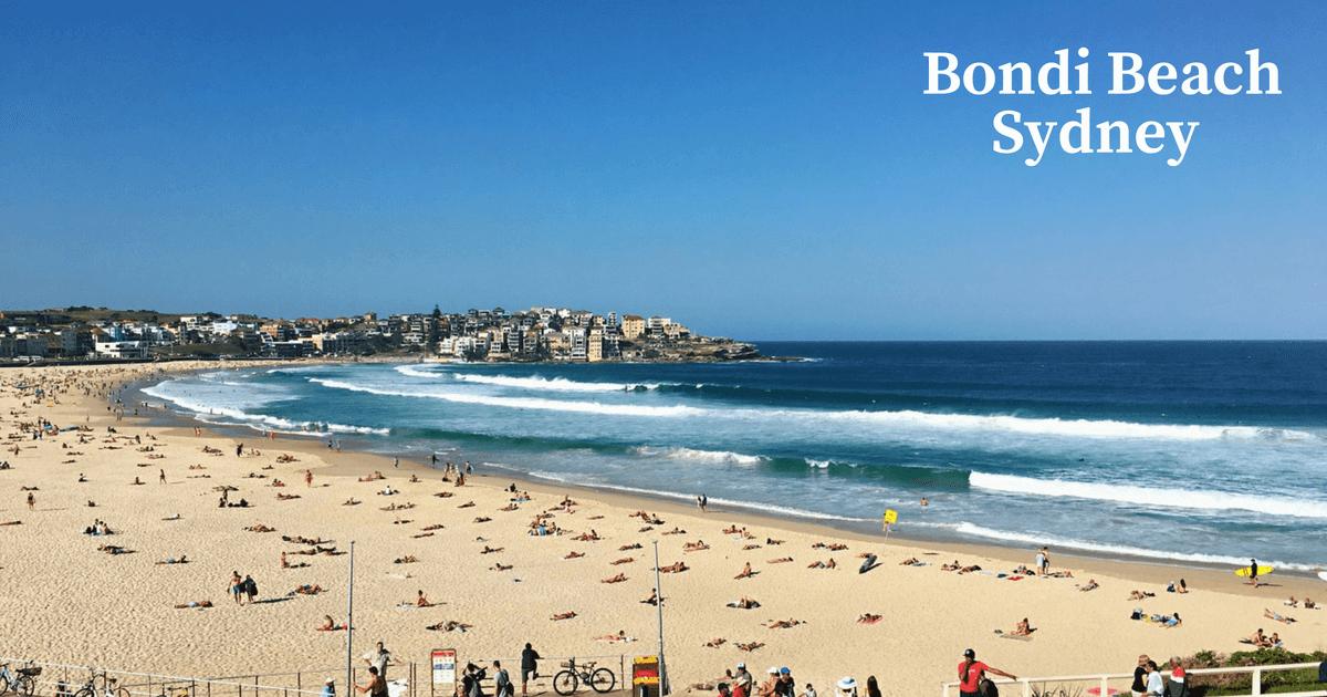 [雪梨景點推薦] 去了2次還不過癮的邦代海灘Bondi Beach