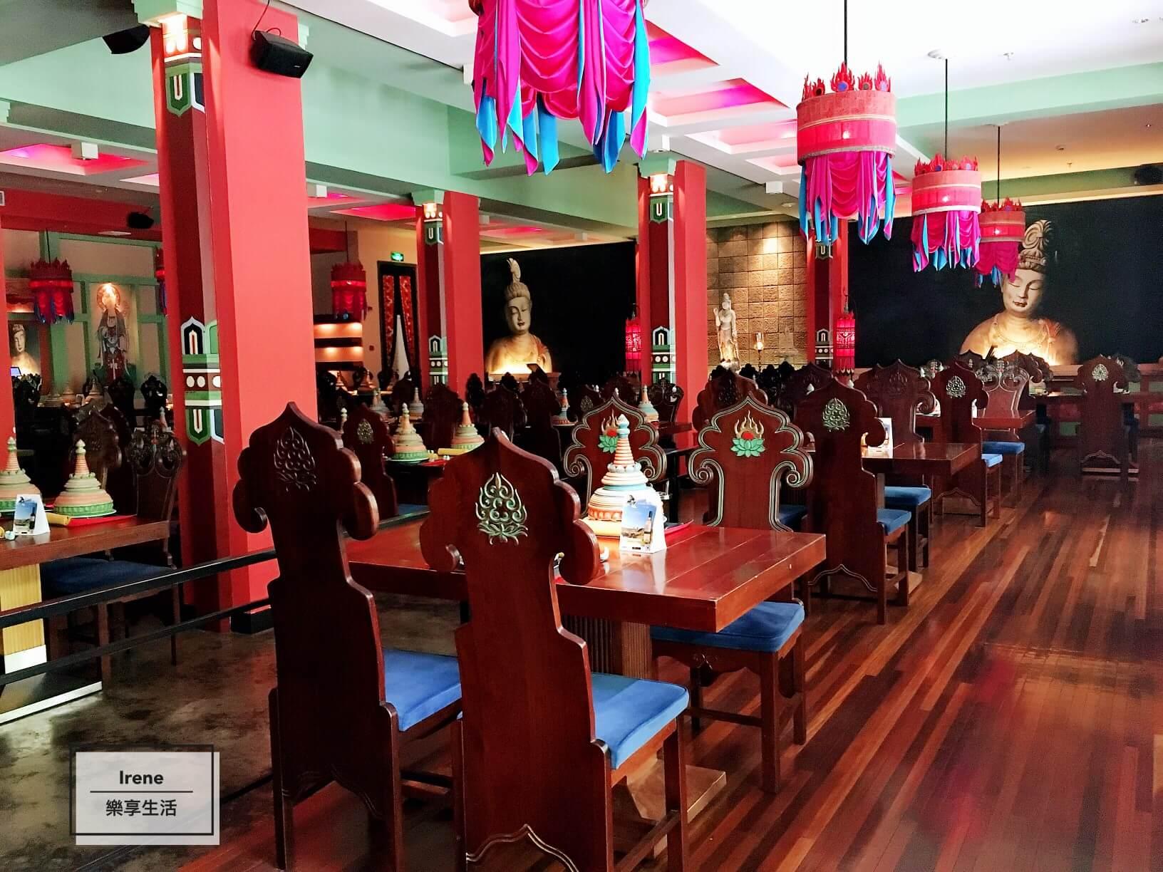 上海美食推薦-上海花馬天堂絲綢之路餐廳(Lost Heaven Silk Road)用餐區