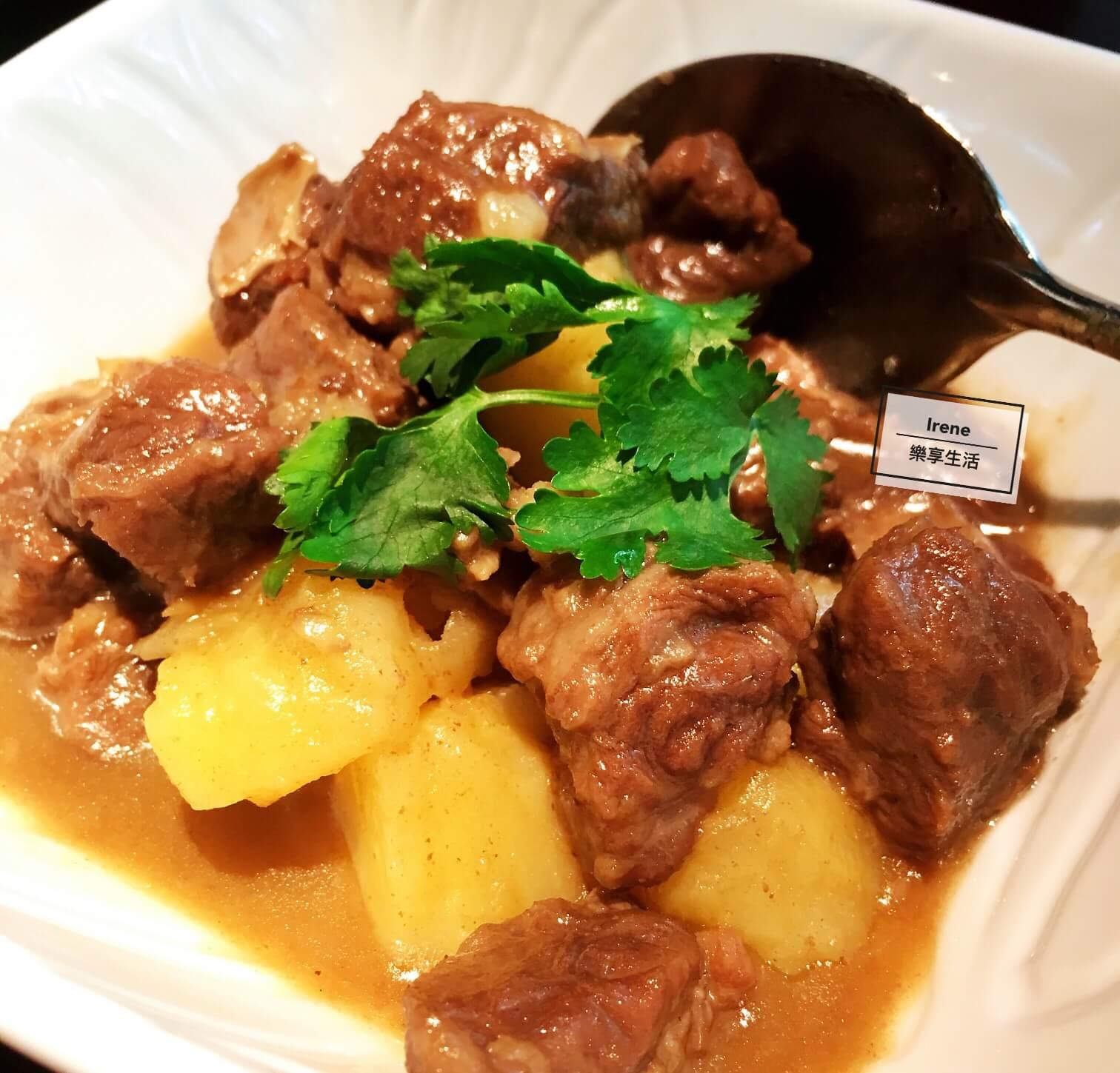 上海花馬天堂絲綢之路餐廳/洋芋燜牛肉