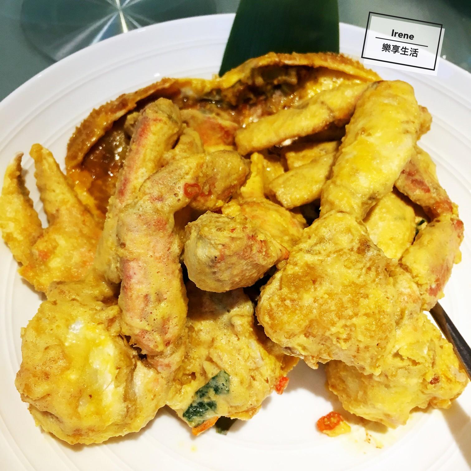 上海美食推薦-新加坡珍寶海鮮Jumbo Seafood鹹蛋黃炒蟹
