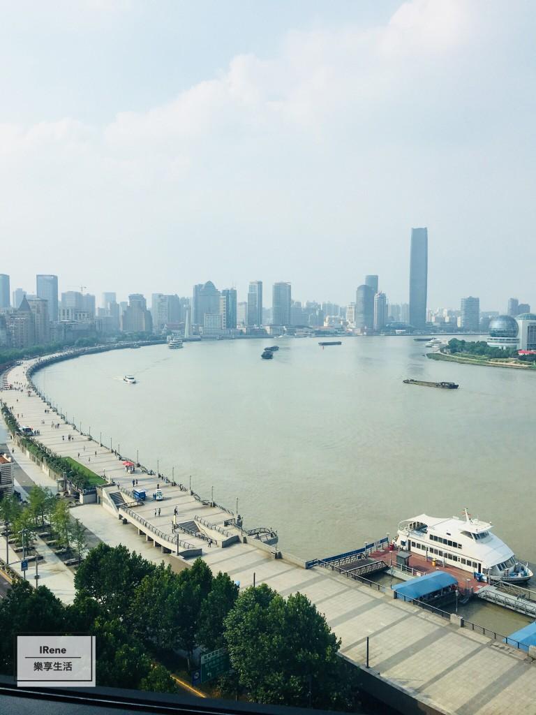 上海住宿推薦-上海外灘東方商旅精品酒店窗外黃浦江景
