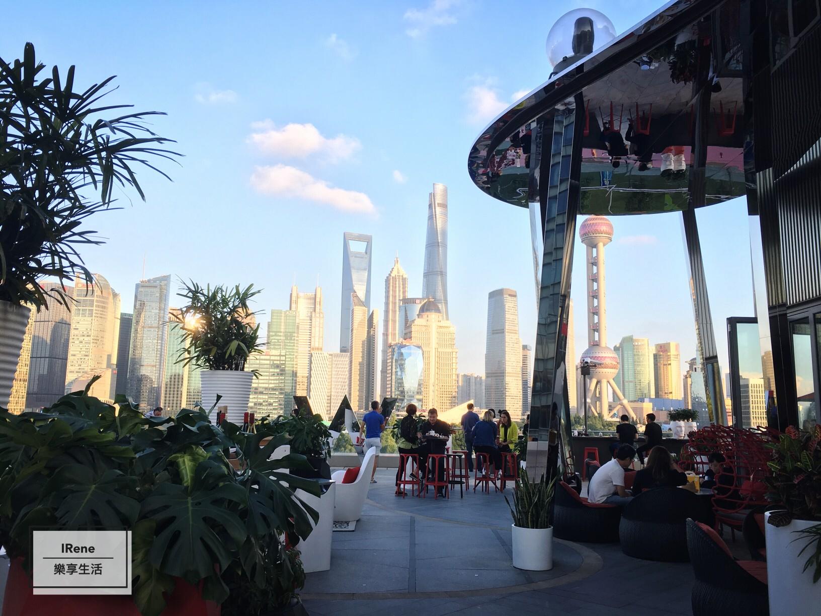 上海夜景酒吧-上海外灘W Hotel Wet Bar池畔酒吧