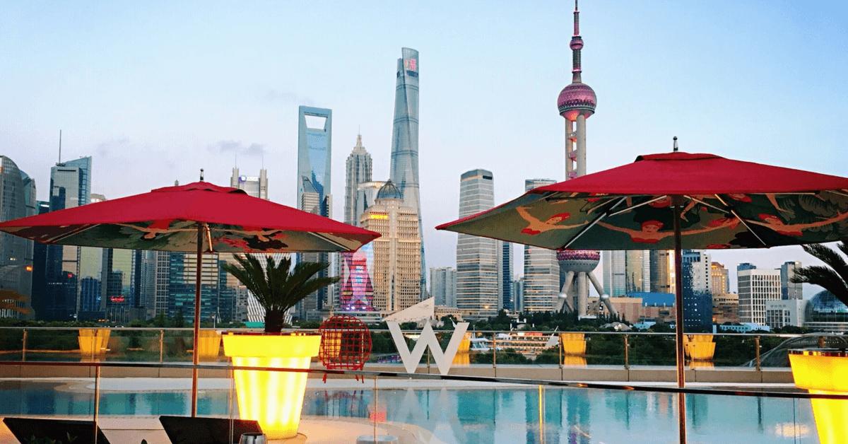【上海夜景酒吧】新地標, 上海陸家嘴美景這裡看 – W Hotel Wet Bar