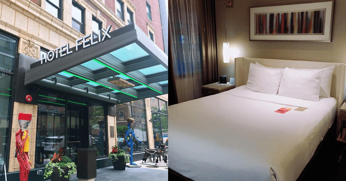 【住宿】芝加哥住宿推薦 – 芝加哥菲利克斯飯店 Hotel Felix